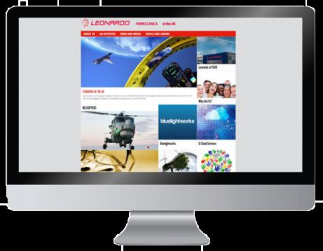 Leonardo UK website