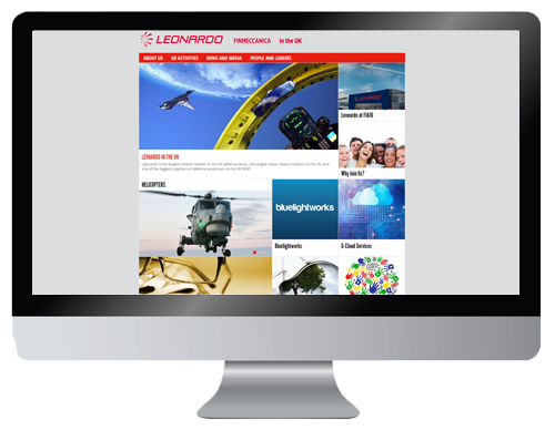 Leonardo UK website